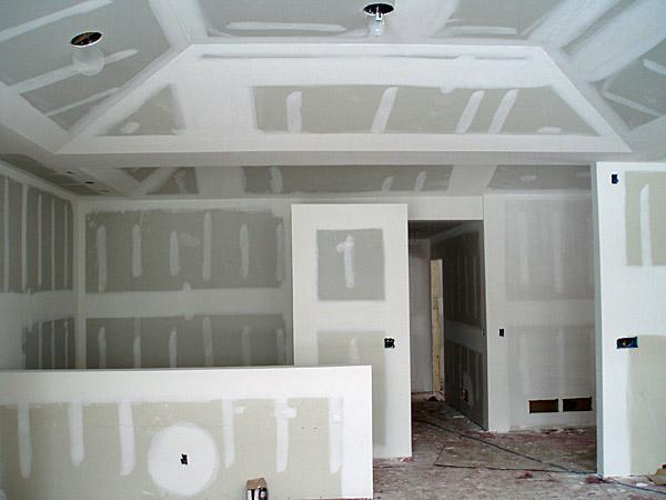 come creare una stanza con pareti in cartongesso